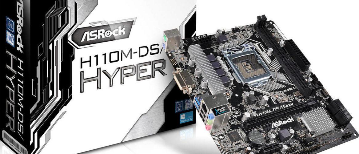 ASRock anuncia su motherboard H110M-DS Hyper para gamers