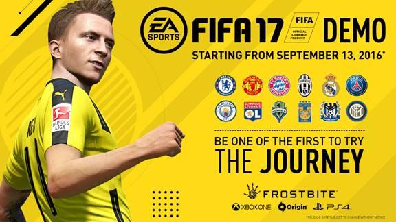 Ya está disponible la demo de FIFA 17