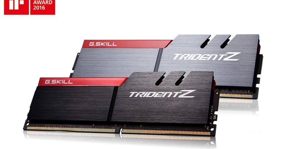 G.SKILL anuncia el KIT DDR4 Trident Z de 32GB a 3866 MHz