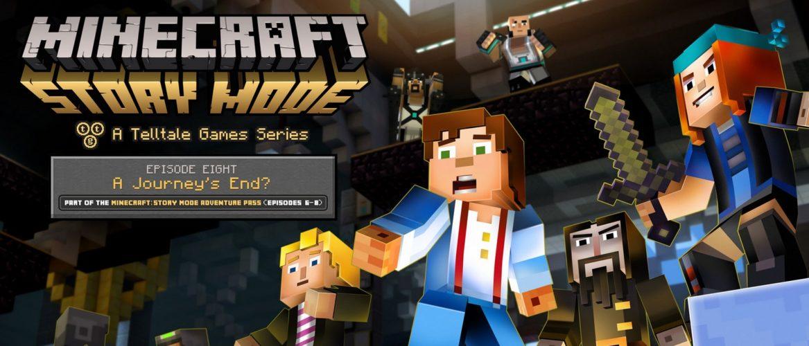 Minecraft Story Mode completo estará disponible en Octubre
