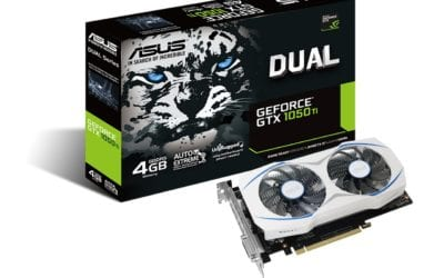 ASUS anuncia su línea de tarjetas Nvidia GeForce GTX 1050 y 1050 Ti