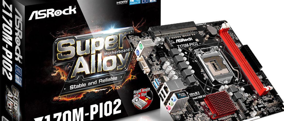 ASRock revela su placa base Z170M-PIO2