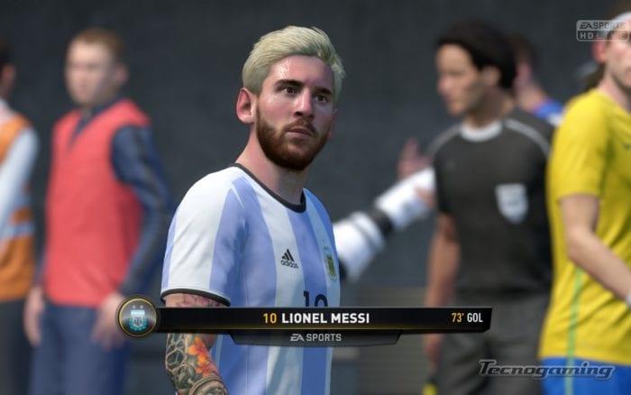 Messi y su nuevo look, Octubre 2016.