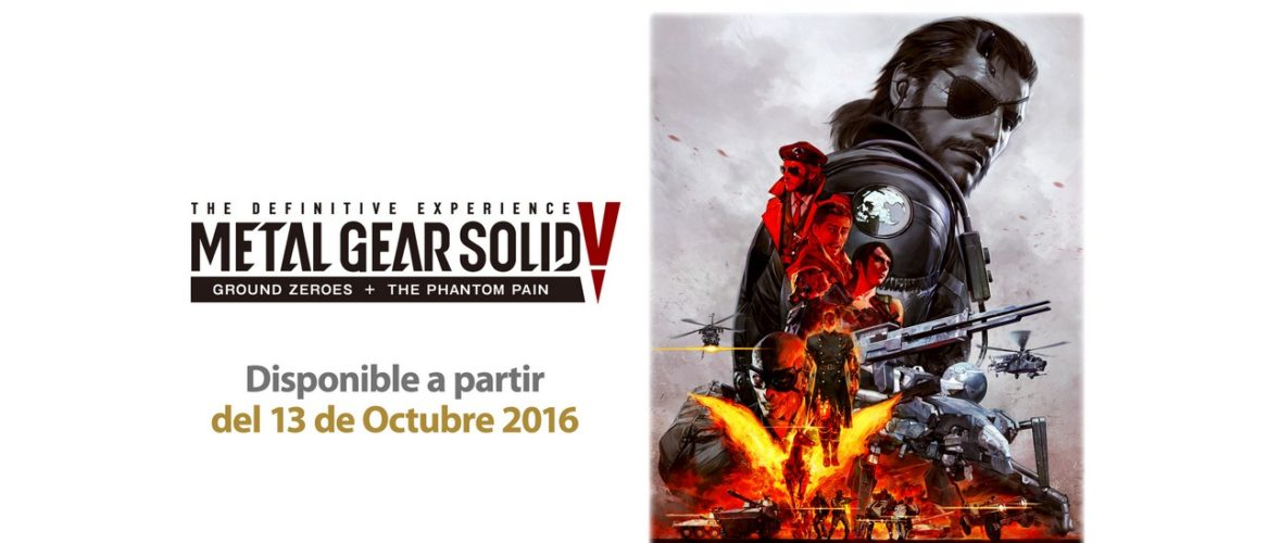 Metal Gear Solid V: The definitive Experience ya se encuentra disponible