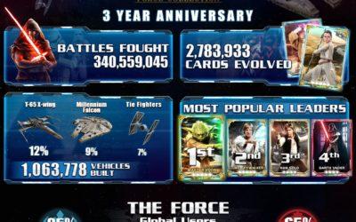 Star Wars: Force Collection revela nuevas tarjetas inspiradas en Rogue One