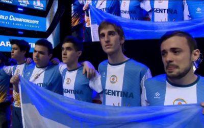 Argentina subcampeón de The World Championship 2016