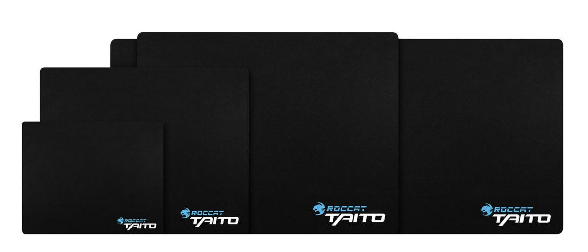 ROCCAT anuncia su serie de Mousepads Taito 2017