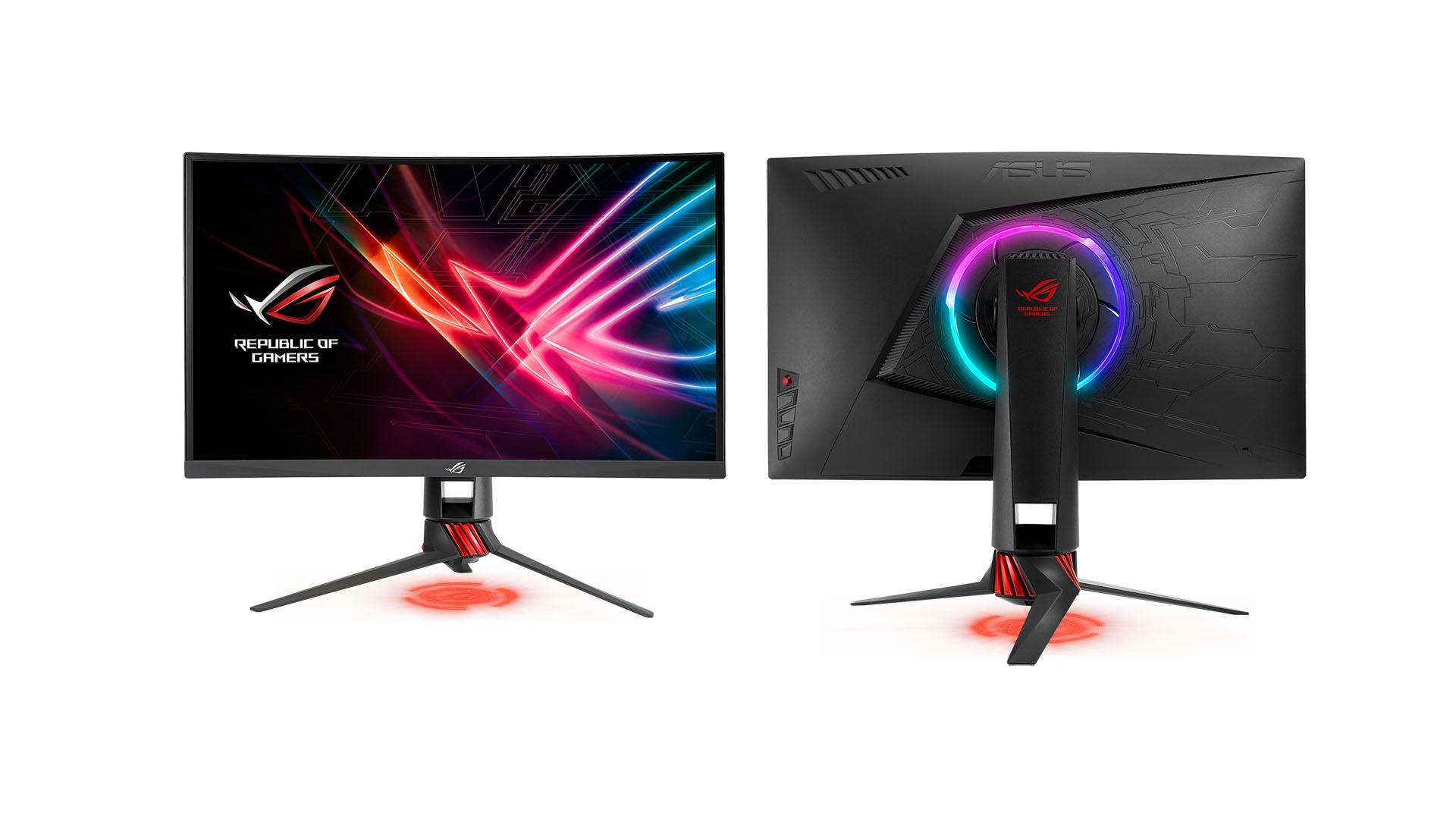 ASUS ROG anuncia su monitor Strix XG27VQ de 144Hz - TecnoGaming